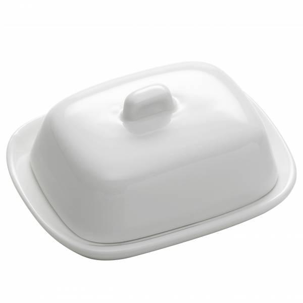 KITCHEN Butterdose 10 cm, Porzellan